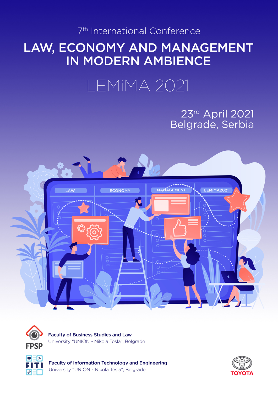 Sedma međunarodna naučna konferencija Pravo, ekonomija i menadžment u savremenim uslovima – LEMiMA 2021